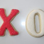 XO Valentine's Day Cookies