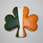 Saint Patrick's Day Shamrock Cookie