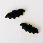 Halloween Cookies: Bats and Ghosts