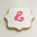 How to Make Monogram Cookies with Royal Icing Transfer