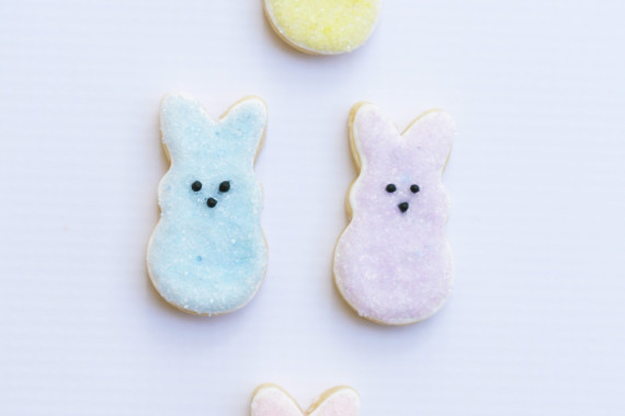 Easy Peeps Easter Cookies