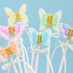 Butterfly Wand Cookie Pops