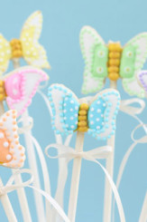 Butterfly Cookie Pops