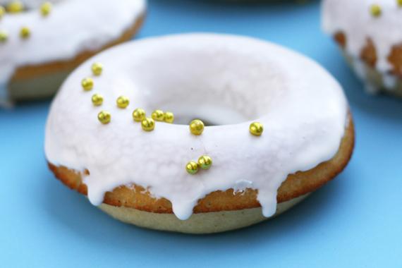 Baked Glazed Donuts